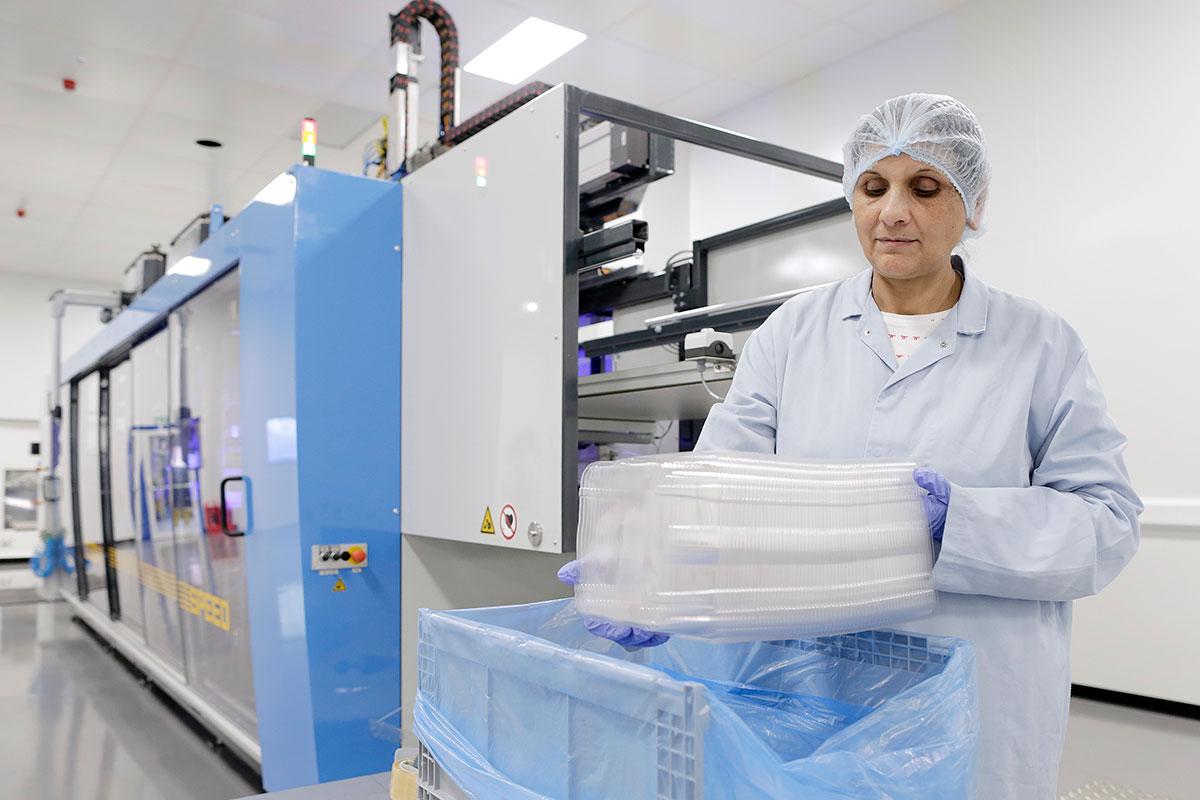 TEQ Manufacturing Cleanroom